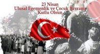 Türkiye Büyük Millet Meclisinin açılışının  100. yıl dönümünde, Ulusal Egemenlik ve Çocuk Bayramı